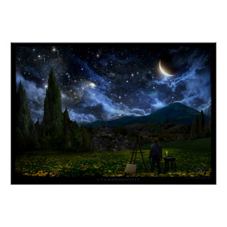 Starry Night Posters