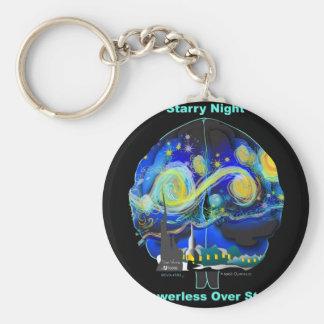 Starry Night Powerless Over Stars Key Chains
