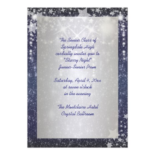 Prom night invitations quotes stopboris Image collections