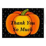 Starry Night Pumpkin Greeting Cards