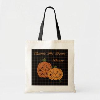Starry Night Pumpkins Bag