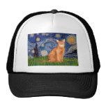 Starry Night - Red Abyssinian Hats