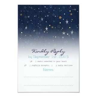 Starry Night RSVP Card