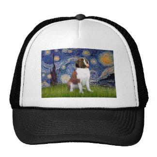 Starry Night- Saint Bernard Trucker Hat