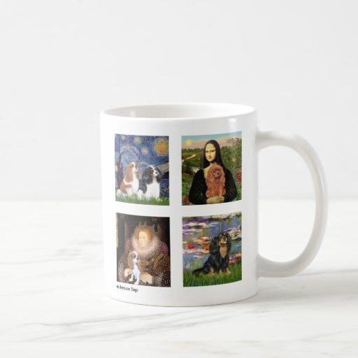 Starry Night - Schnauzer Puppy #10 Coffee Mug