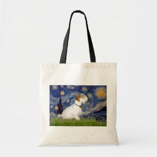 Starry Night - Sealyham Terrier (L) Tote Bag