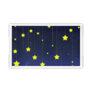 Starry Night serving tray