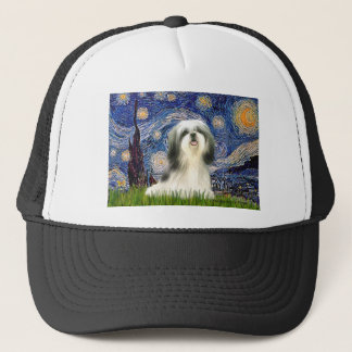 Starry Night - Shih Tzu #3 Trucker Hat