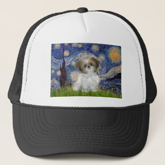 Starry Night - Shih Tzu Puppy Trucker Hat