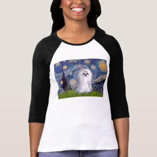 Starry Night - Shih Tzu (white) T-Shirt