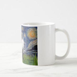 Starry Night - Siamese 24 (blue point) Coffee Mug