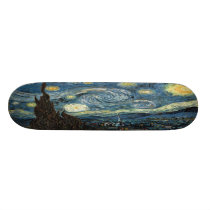 Starry Night Skateboard Deck