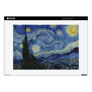 "Starry Night 15"" Laptop Skins"