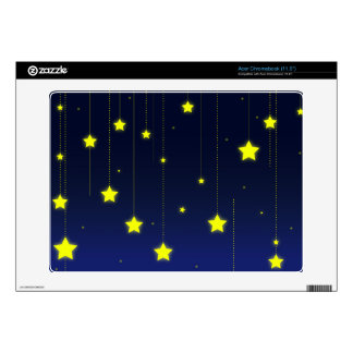 Starry Night skin Laptop For Mac & PC Acer Chromebook Decals