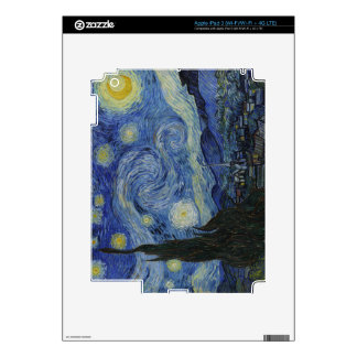 Starry Night Skins For iPad 3
