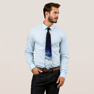 Starry Night Sky (1 side) Tie
