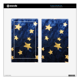 Starry Night Sky Kindle Fire Decals