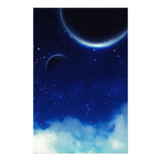 Starry Night Sky Stationery