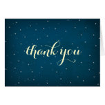 Starry Night Sky Thank You Card