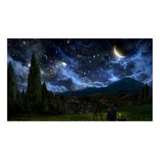Starry Night_standard business card
