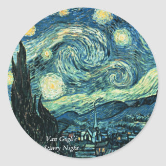 Starry Night Stickers