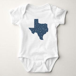 Starry Night Texas State Baby Bodysuit