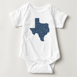 Starry Night Texas State Baby Bodysuit