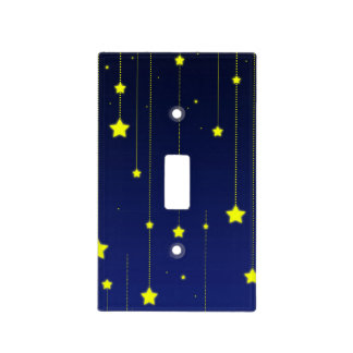 Starry Night toggle Light Switch Cover
