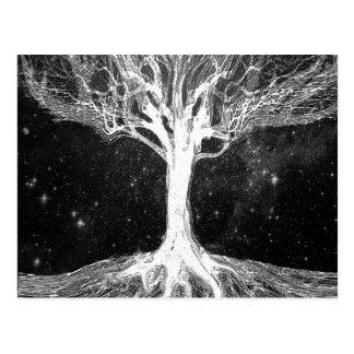 Starry Night Tree of Life Postcard