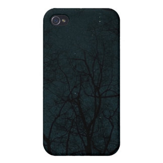 Starry Night Trees case Cover For iPhone 4