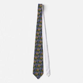 Starry Night - Two Vizslas Tie