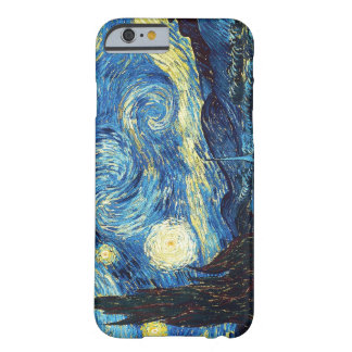 Starry Night - Van Gogh Barely There iPhone 6 Case
