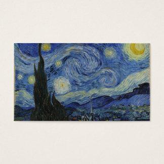 Starry Night Van Gogh Business Card