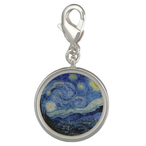 Starry Night & Van Gogh /famous vintage art Charm