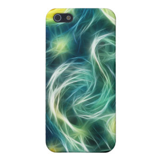 Starry Night Van Gogh Fractal Art iPhone 5 Cover