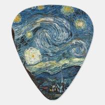 Starry Night Van Gogh Guitar Pick