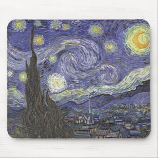 Starry Night - Van Gogh Mouse Pad