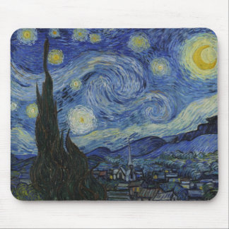 Starry Night Van Gogh Mouse Pad