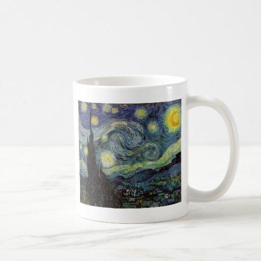 Starry Night - van Gogh Coffee Mugs