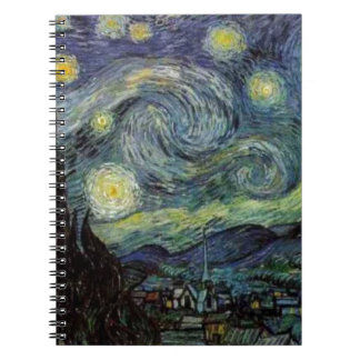 Starry Night - van Gogh Notebook