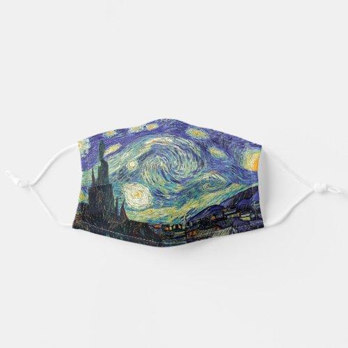 Starry Night _ van Gogh Painting Art Cloth Face Mask