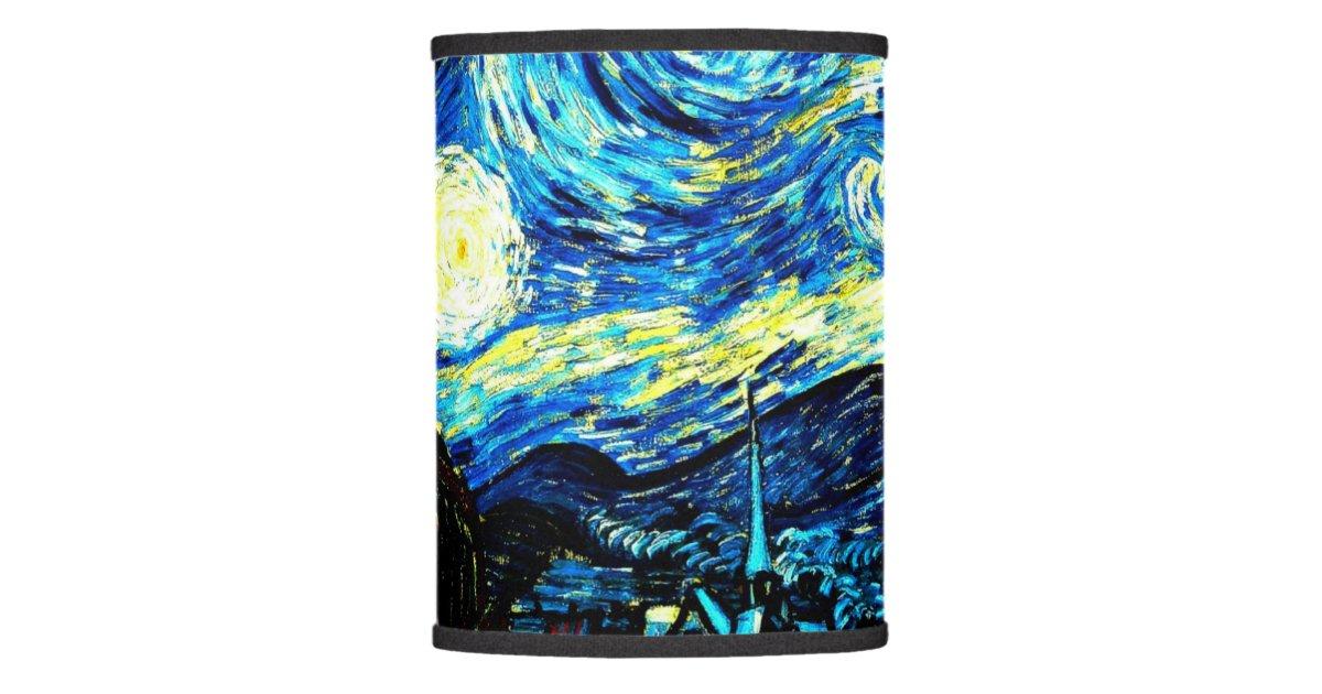 Starry Night Van Gogh Painting Lamp Shade Zazzle