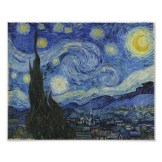 Starry Night Van Gogh Photo Art