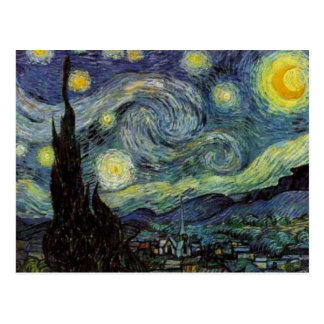 Starry Night - van Gogh Postcard