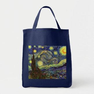 Starry Night, Van Gogh Tote Bag