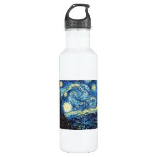 Starry Night - Van Gogh Water Bottle