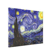 Starry Night, Vincent Van Gogh. Stretched Canvas Print