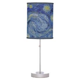 Starry Night Vincent van Gogh Desk Lamp
