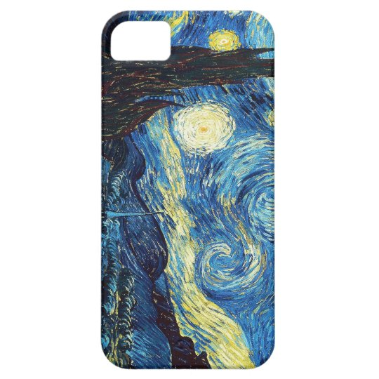 Starry Night Vincent Van Gogh Famous Painting iPhone SE/5/5s Case