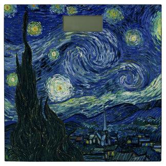 Starry Night Vincent van Gogh Fine Art Painting Bathroom Scale
